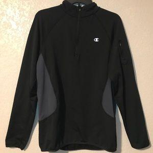 Champion quarter Zipper Pullover Sweater Track